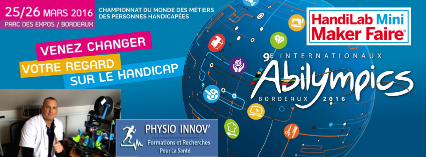 Aurel2 - Abilympics - maker faire